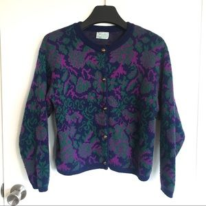 United Colors of Benetton Vintage Cardigan Sweater